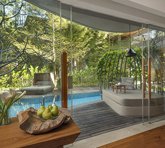 Impressive Lagoon Pool Access - Terrace and Nest Lounge