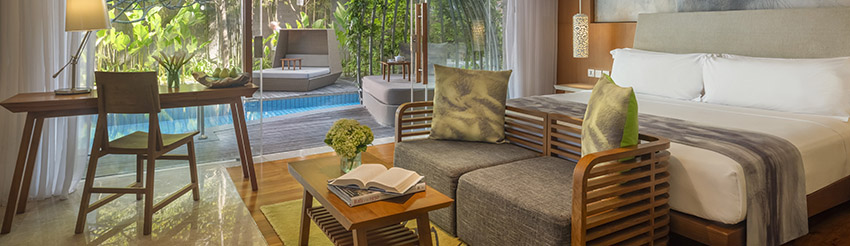 Impressive Lagoon Pool Suite
