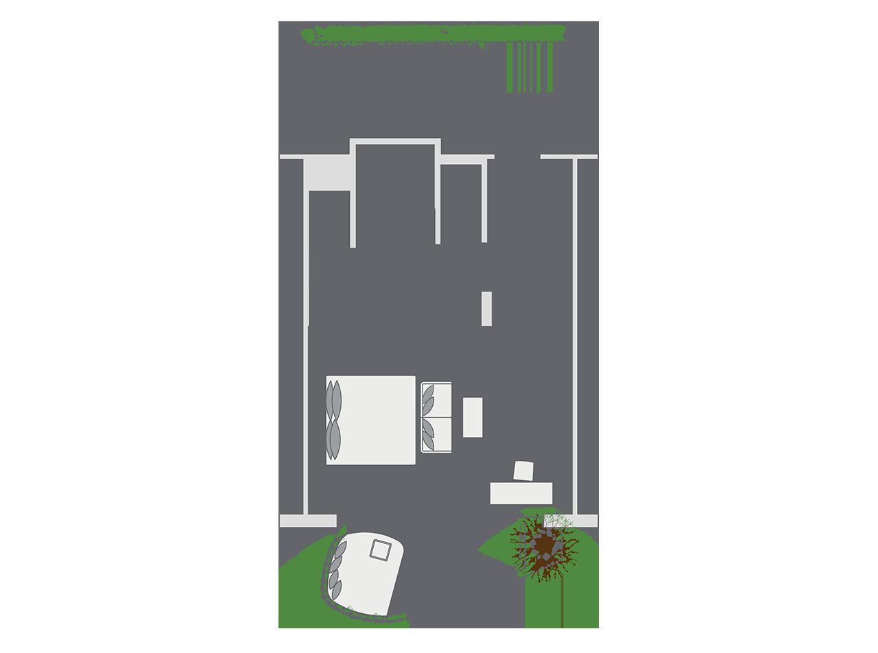Impressive Nest Suite floor plan
