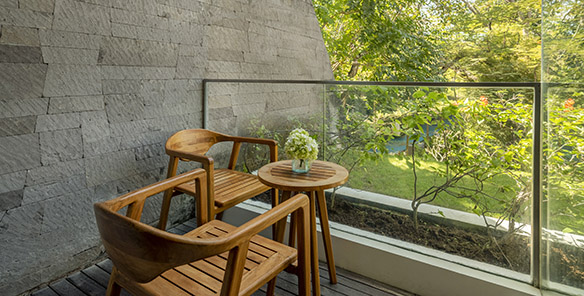 Wonderful Garden View - Private Balcony