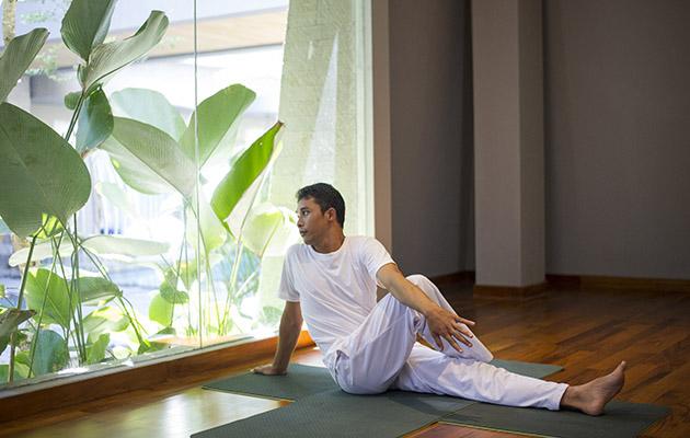 Yoga studio  - Guided Yoga Session