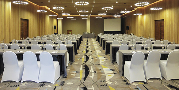 Ballroom - Classroom Set Up