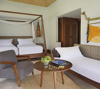 Heavenly Jacuzzi Villa - Sofa Bed Set Up