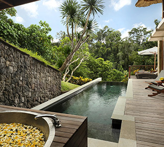 Heavenly Two Bedroom Pool Villa - Outdoor Bath & Private Swimming Pool