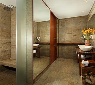 Heavenly Two Bedroom Pool Villa - Master Bedroom Bathroom