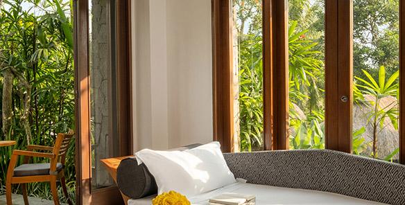 Impressive Forest Corner Suite - Sofa Bed Set up
