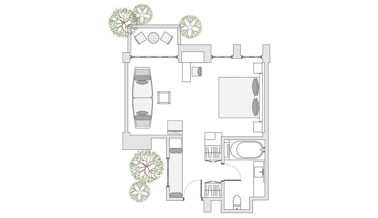 Impressive Forest Suite floor plan