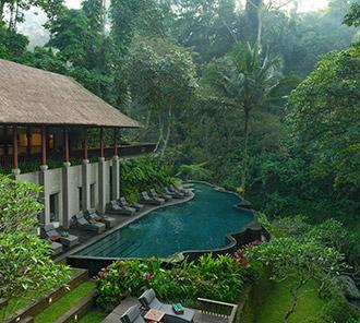 River Cafe Pool - Ubud Breeze