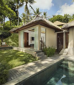 Suites & villas in Ubud