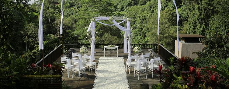 Ceremonial Plaza - Wedding Stage