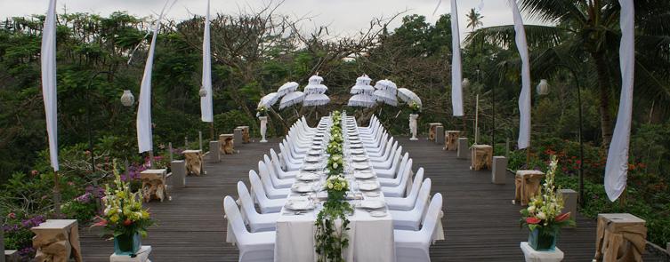Starlight Deck - Modern Balinese Set up